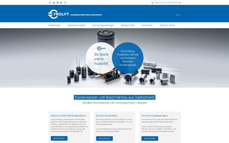 Frolyt Website